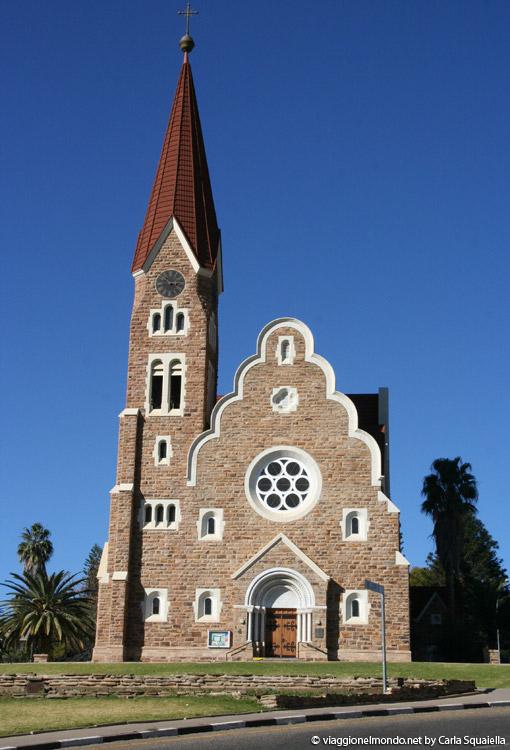 Namibia - Windhoek, Christuskirche