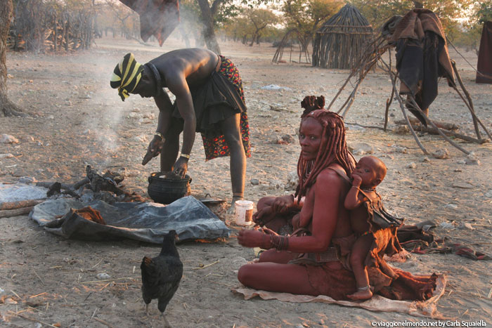 Tribù Himba - Namibia