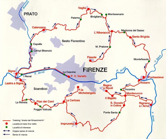 Anello del Rinascimento - Firenze