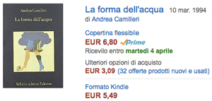 compra su Amazon La forma dell'acqua