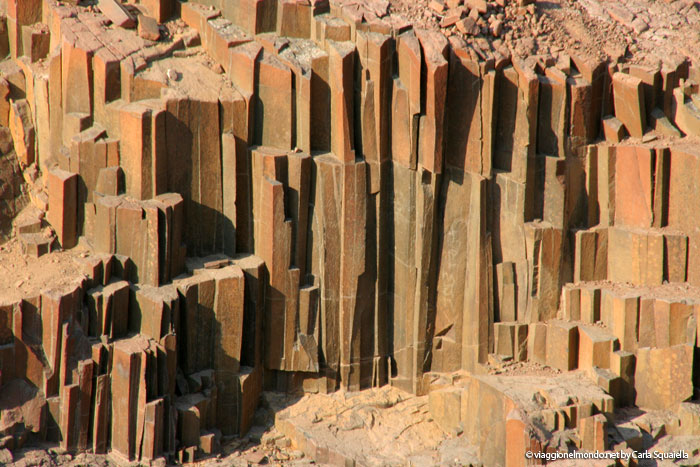Viaggio in Namibia - Le canne d'organo