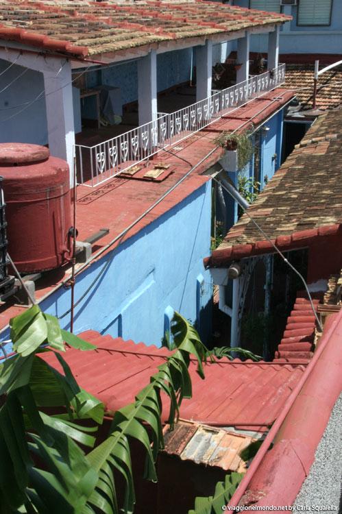 Cuba, Trinidad - Vista dalla terrazza di Remanso de Paz