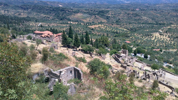 Mistra, Peloponneso