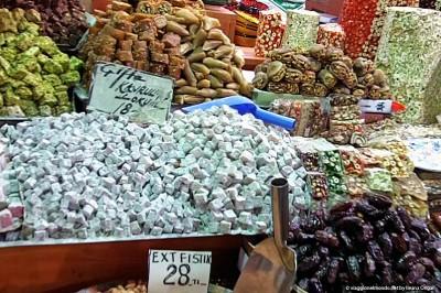 Istanbul - bazar delle spezie