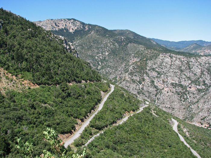 Strade Peloponneso