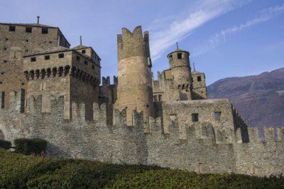 fenis, castello