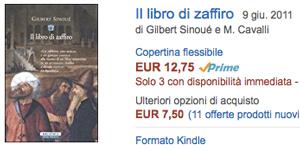 compra su Amazon Il libro di zaffiro