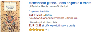 compra su Amazon Romancero gitano