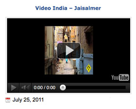 jaisalmer, Rajasthan - video