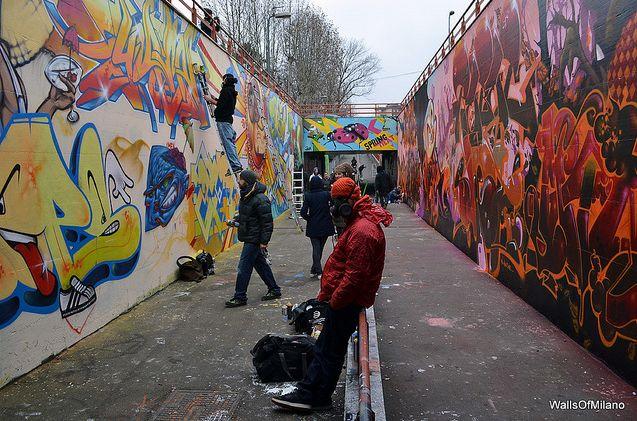 Murales di milano foto viaggio nel mondo for Ristorante murales milano