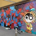 Via Cola Montano, murales