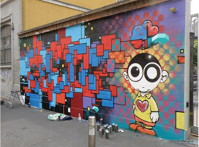 Murales, Milano