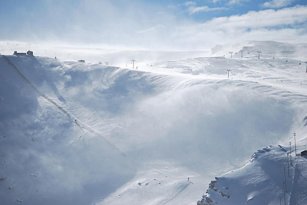 sciare in Spagna
