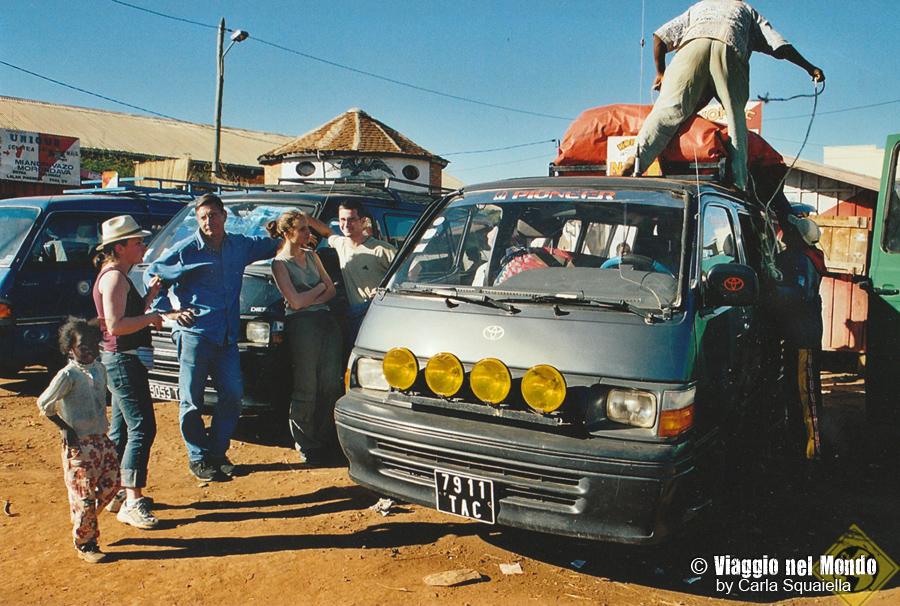 Madagascar, taxi-brousse