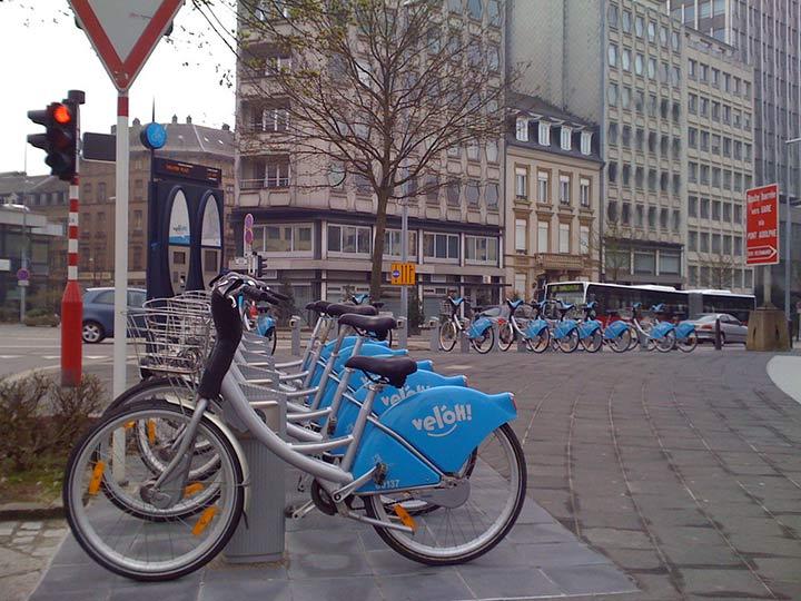 Lussemburgo in bicicletta