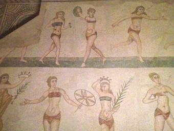 mosaici di Villa del Casale: