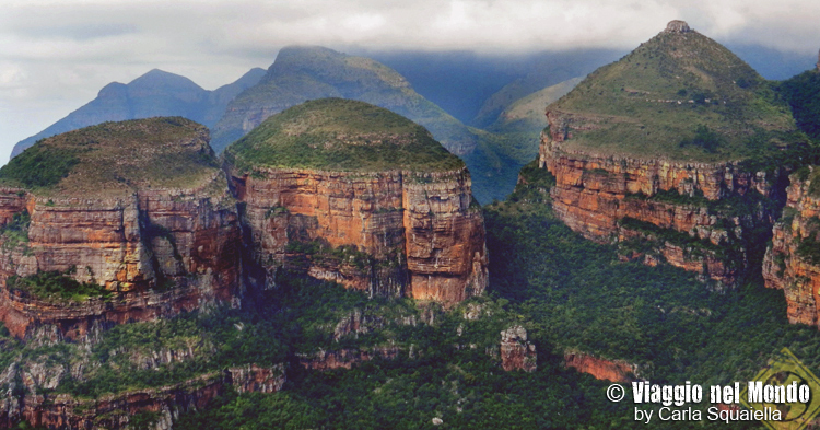 Blyde River Canyon, three Rondavels