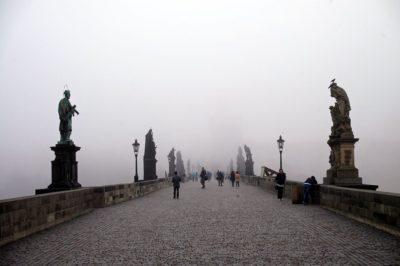 Il ponte Carlo di Praga.