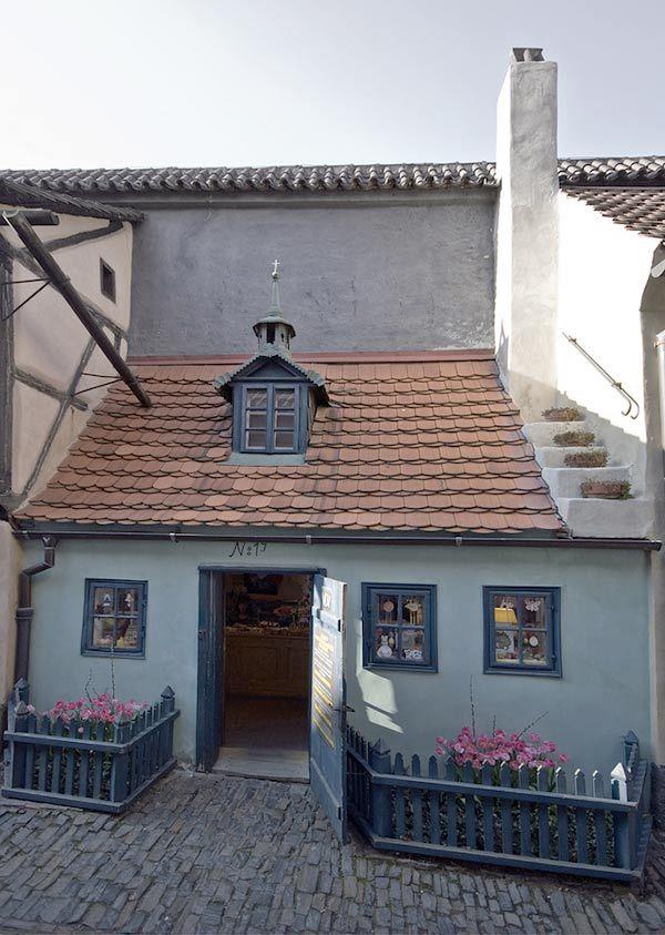 Vicolo d'Oro di Praga.