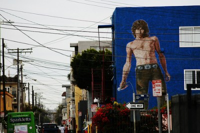 Murales Jim Morrison Venice