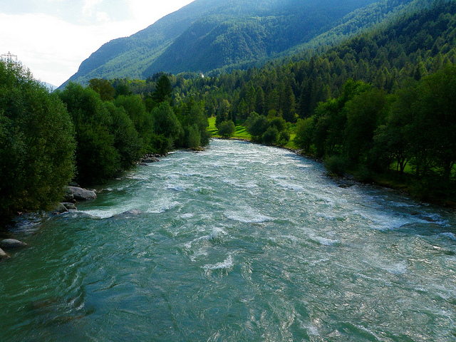 Val di Sole, il fiume Noce