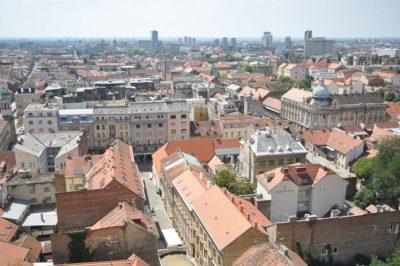 Zagabria, capitale della Croazia