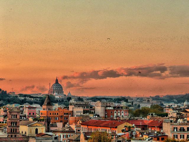 Roma tramonto giardino degli aranci viaggio nel mondo - Hotel giardino degli aranci ...