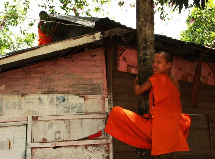 Monaci, Luang Prabang