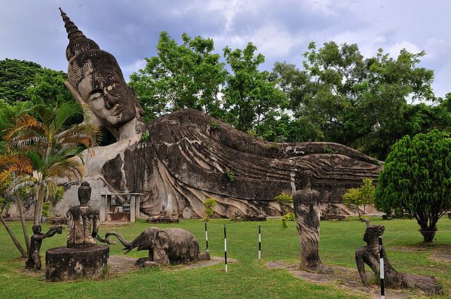 Vientiane, capitale Laos