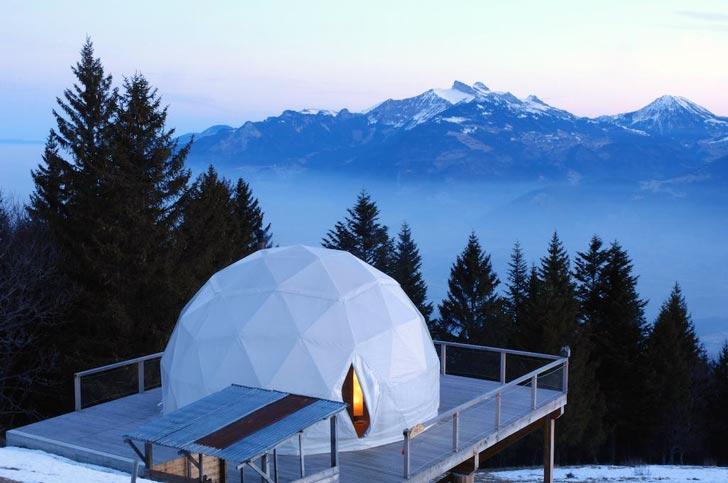 ecolodge, Svizzera