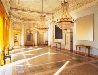 villa Panza, interni