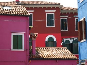 Burano, case colorate