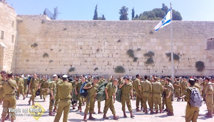 Militari a Gerusalemme