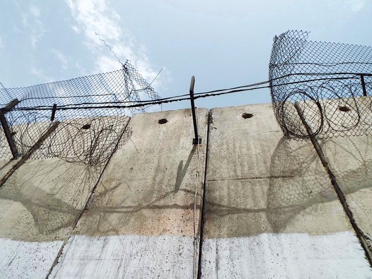 muro Palestina Israele
