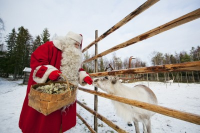 il villaggio di Babbo Natale