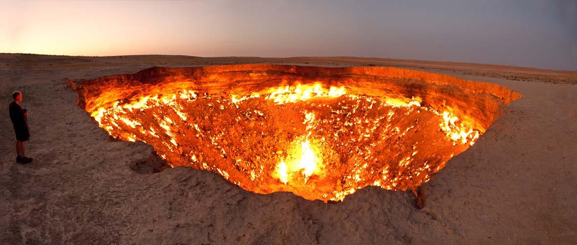 Porta dell'inferno - Darvaza