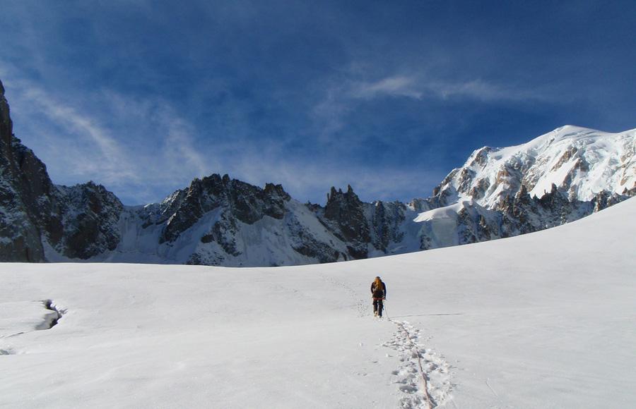 Idee per Pasqua: Glacier du Gèant