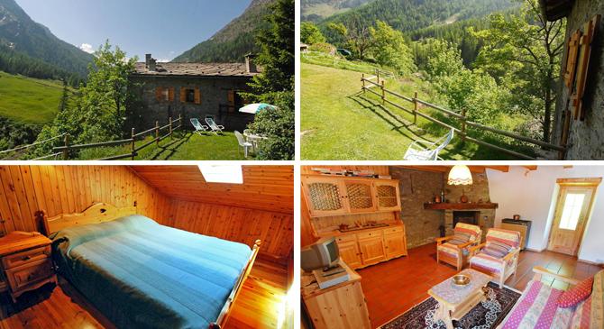 case vacanze montagna - Valsavarenche