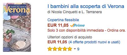 Compra su Amazon la guida I bambini alla scoperta di Verona