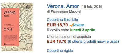 compra su Amazon Verona. Amor
