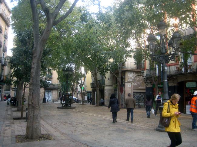 Plaça de Sant Augustí Vell