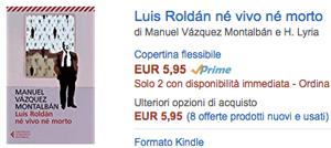 compra su Amazon Luis Roldán né vivo né morto