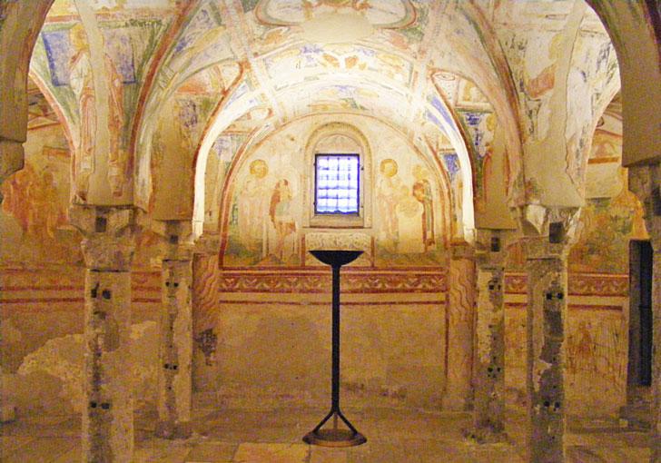Affreschi Basilica di Aquileia