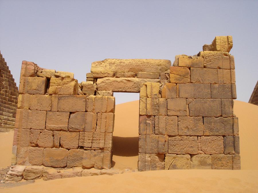 Sudan, necropoli