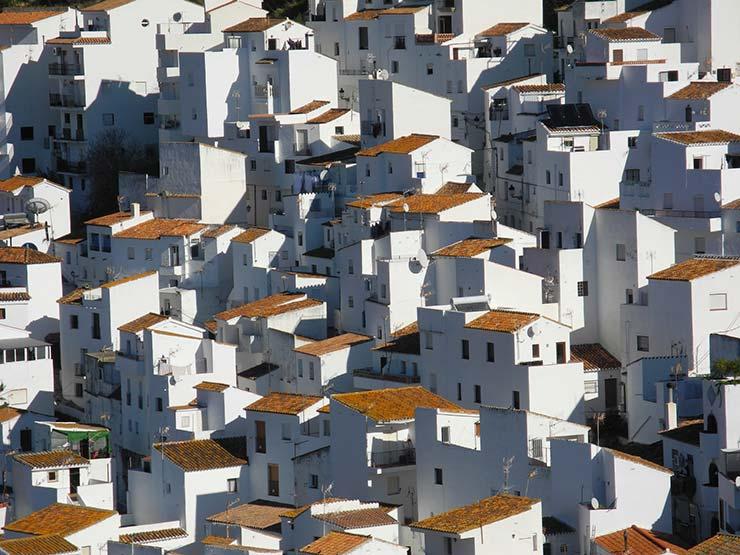 pueblos blancos, Casares, Andalusia