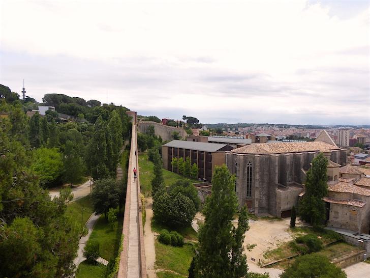 Girona, Le Mura