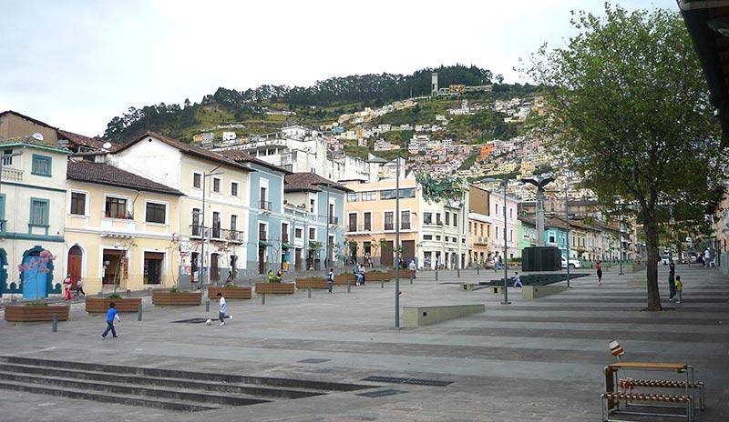 Boulevard 24 de Maio, Quito