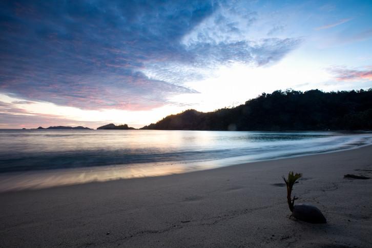 spiaggia di Sungai Pinang