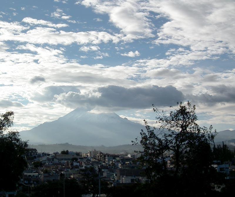 Vulcano Chimborazo, Ecuador