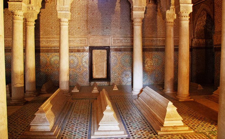 cosa vedere a Marrakech - tombe Sadiane
